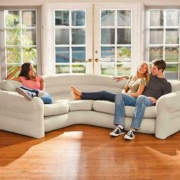 Ultra Comfort Sleeper Futon Sectional Couch Corner Sofa Bed