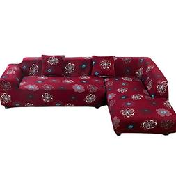 Beacon Pet Universal Sofa Covers for L Shape, 2pcs Polyester