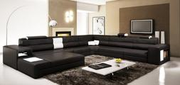 VIG Furniture VGEV5022-BND-BLK Divani Casa Polaris - Contemp