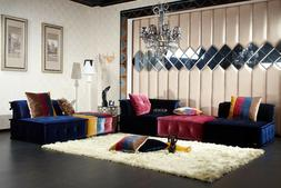 VIG Contemporary Divani Casa Dubai Multicolor Fabric Modular