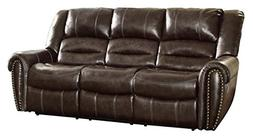 Woodhaven Hill Center Hill Double Reclining Sofa