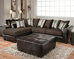 Chelsea Home Furniture Zeta 2-Piece Sectional, Jefferson Cho
